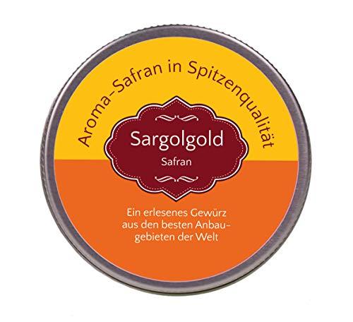 Sargolgold Safran-Pulver gemahlen, Top-Qualität - Spitzenkategorie 1 (2 Gramm)