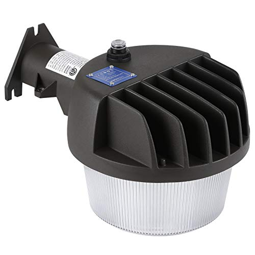 TORCHSTAR LED Barn Light 50W, 6000lm, Dusk to Dawn Yard Lighting with Photocell, 5000K Daylight, 600W Eqv., IP65 Waterproof, ETL-Listed, Outdoor Security/Area Light