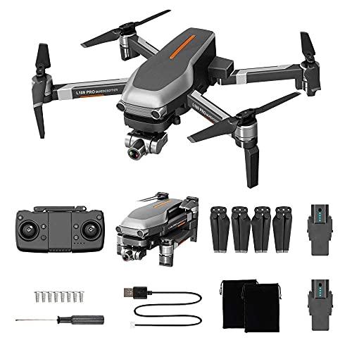 DCLINA Droni GPS con Fotocamera 4K, Video Live FPV WiFi a 5 GHz e 4 Motori brushless, Posizionamento del Flusso Ottico, Volo a 1200 Metri, 2 Minuti Batteria