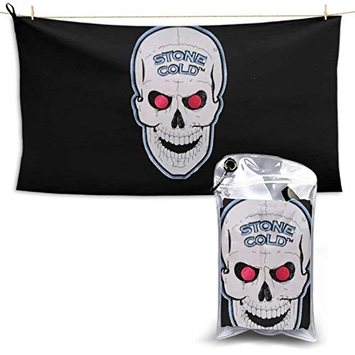 niushan Stone Cold Steve Austin Ultra Fast Dry Travel and Sports Towel Than Microfiber Compact Qui Dry Lightweight Towels 28.7'' X 51'' (Horizontal)