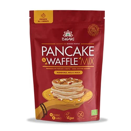 Pancake & Waffle mix - Mandorle, Mela e Maca 400g