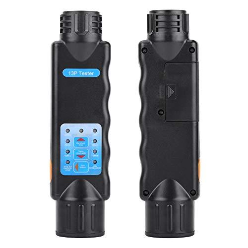 Outbit Trailer Tester - 1 PC von 12V 13 Pin LED Licht Kabel Kabel Steckdose Tester für Fahrzeug Anhänger Anhängerkupplung.