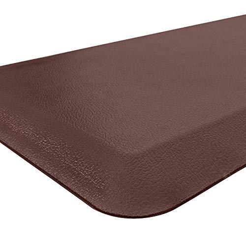 "HEBE Anti Fatigue Floor Mat 4/5 Inch Thick Cushioned Kitchen Mat Standing Desk Mat Extra Long Non Skid Kitchen Runner Rug Heavy Duty Comfort Standing Mats for Kitchen Office,20""x72"""