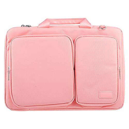SOLUSTRE Laptop Shoulder Bag for 14. 1-15. 4 Inch Laptop, Waterproof Laptop Carrying Bag Laptop Sleeve Computer Bag with Handle