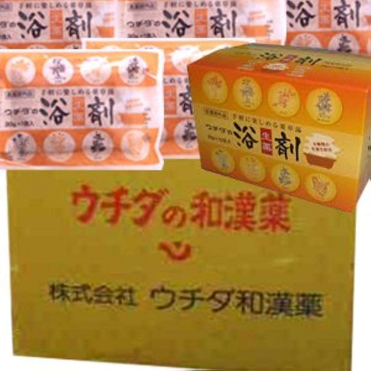 バランスのとれた努力するスタジオ【12個1ケース】 ウチダの浴剤 30g×10袋入×12個+6袋 (4987359400025)