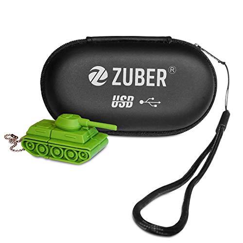 Zuber® Neuheit Army Tank Fahrzeug USB Flash Key Pen Drive Memory Stick Geschenk UK
