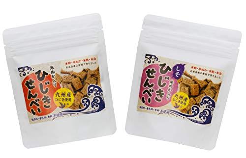 砂糖不使用 お菓子 アレルギー対応 無添加 ひじきせんべい 塩・しそ 40g 各2袋
