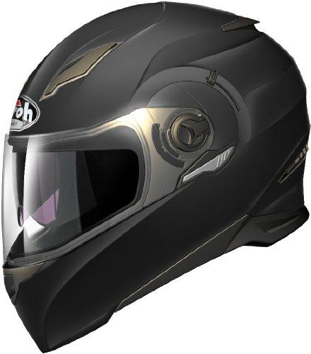 Airoh Motorrad Helm Bewegung, Matt Schwarz, 62-XL