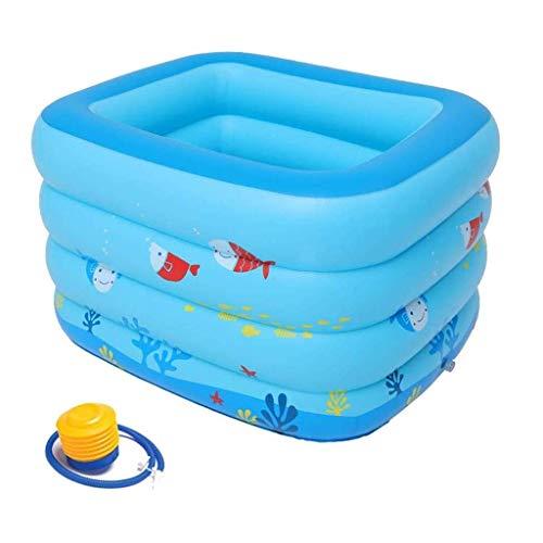 CNMDB Piscina Infantil Engrosada Plegable Aislamiento para el hogar Natación Infantil Natación Bucket Familia Baby Pool Pool