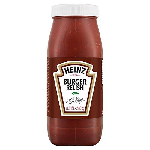 Heinz Burger Relish 2,15 l, 2 Stück