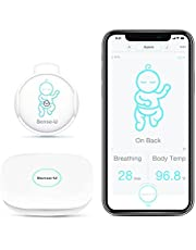 Sense-U Baby Monitor with Breathing Rollover Movement Temperature Sensors: Track Your Baby's Breathing, Rollover, Temperature Anywhere, Anytime (Together with Base Station)