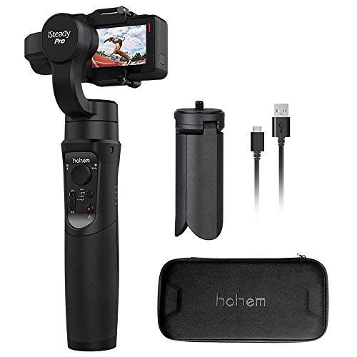 3-axis Handheld Gimbal stabilizzatore per Sony RX0, Gopro Hero 7/6/5/4, Yi Cam 4K, AEE, SJCAM, Apeman, Akaso sport Cam, 640° time-lapse
