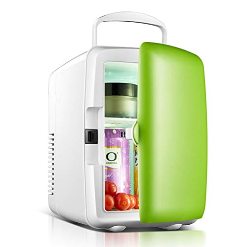 Refrigerador Congelador insulina Congelador de insulina Doble Uso en el hogar y en el Coche Mini Accesorios para Coche (Color : Green, Size : Car and Family Dual Purpose)