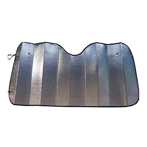 XIN CHANG LWH Parabrisas De Sol, Aislamiento De Verano Papel De Aluminio De Plata De Aluminio Bloqueo De Visera De Sol UV Coche De Sol Dimensionar La Temperatura En El Automóvil(Size:130 * 60CM)