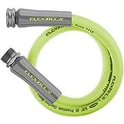 Flexzilla HFZG505YW Garden Lead-In Hose 5/8 In. x 5ft, Heavy Duty, Lightweight, Drinking Water Safe