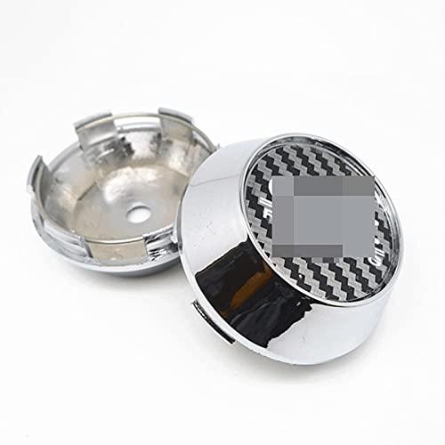 4 piezas compatibles con OZ Racing tapacubos centrales de rueda de 69 mm para llantas de coche, tapacubos de 65 mm de alto, accesorios para el estilo del coche (color: C)