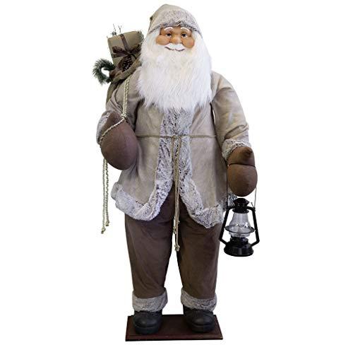Christmas Paradise Dekofigur Santa Weihnachtsmann Nikolaus (Santa Marius, 180cm, Lebensgröße)