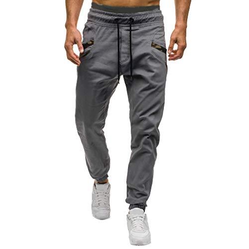 Pantalones Hombre Pantalones Casuales Moda Deportivos Running Pants Jogging Pantalon Fitness Gym...