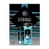 Axe Geschenkset Ice Chilled, Ideal zum Verschenken (Deospray 150 ml und Duschgel 250 ml)