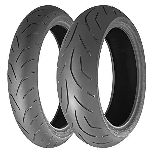 Bridgestone 75814 Neumático 180/55 R17 73W, S20 para 4X4, Verano