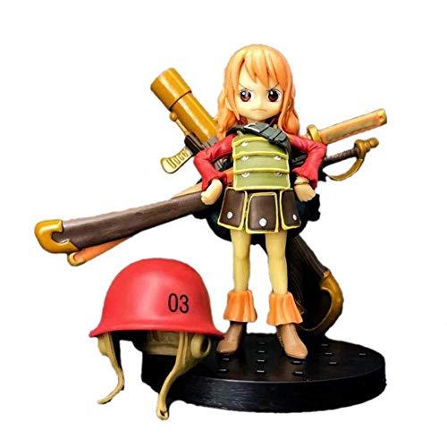 XFHJDM-WJ Modelo One Piece Figure Nami Figurine Red Childhood ...