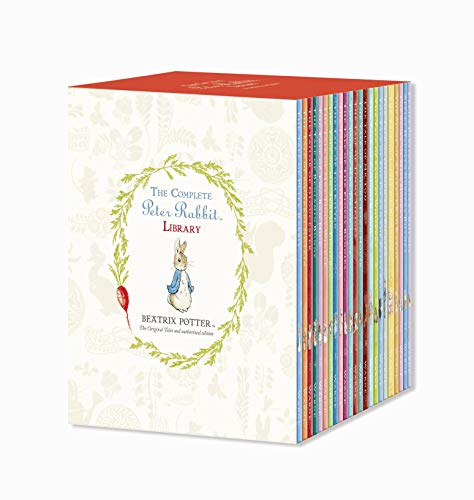 The Complete Peter Rabbit Library Box Set With 23 Volumes