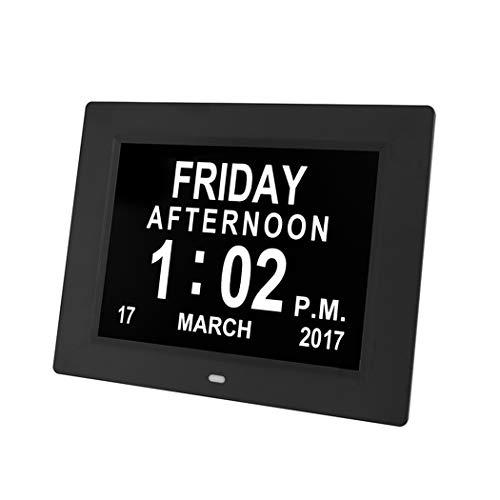 Cweu-home digitale kalender, dagklok, 8