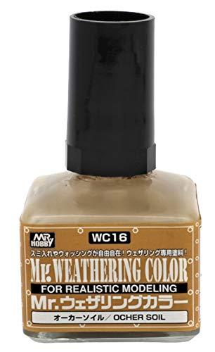 GSIクレオス Mr.ウェザリングカラ- オーカーソイル 40ml 模型用塗料 WC16