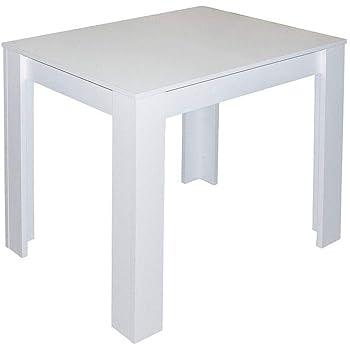 IKEA MELLTORP Esszimmer Tisch in weiß, 75x75 cm: