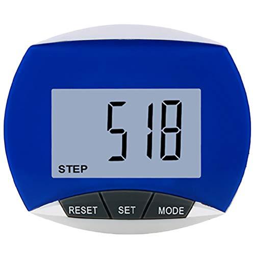 SASKATE Walking Schrittzähler Multifunktionaler Schrittschrittzähler, LCD-Display mit Clip, Übungszubehör