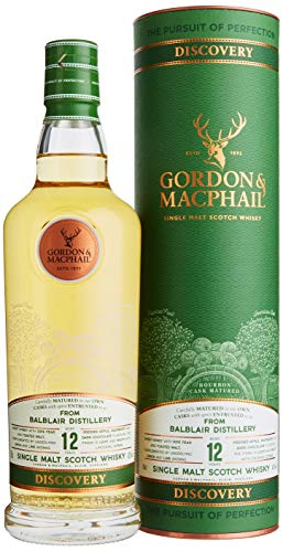 Gordon & MacPhail BALBLAIR 12 Years Old DISCOVERY Single Malt Scotch Whisky mit Geschenkverpackung (1 x 0.7 l)