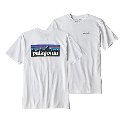Patagonia パタゴニア M's P-6 Logo Responsibili-Tee メンズ Tシャツ 半袖 (WHI) 39174 L