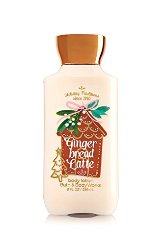 Bath and Body Works Gingerbread Latte Body Lotion 8 ounce Full size