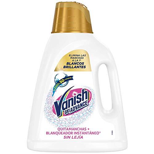 Vanish Oxi Advance - Quitamanchas y blanqueador para ropa blanca, en gel, sin lejía - 1600 ml