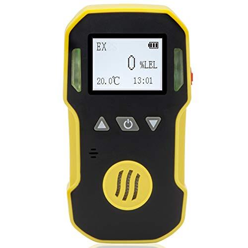 BOSEAN可燃性ガス EX CH4測定器 検知器 検出器 メタンCH4/エタンC2H6/プロパンなどを検知 三つのアラームモード IP65 高精度 携帯用 USB充電 日本語切り替え可能