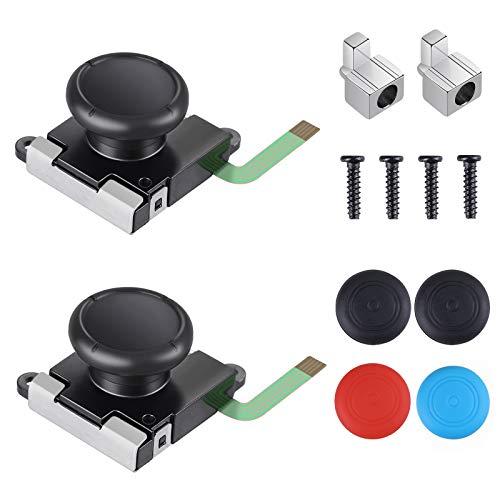 Vastar Joysticks Analógicos 3D, Joysticks Compatibles Con JoyCon para los Interruptores Izquierdo y Derecho de Joycons Nintendo