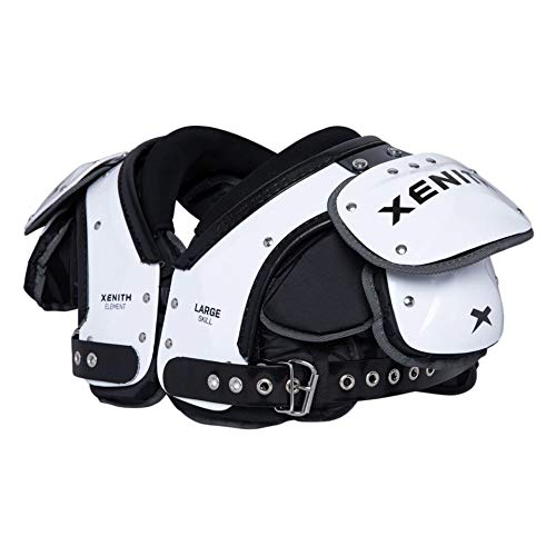 Xenith Element Skill Varsity Football Shoulder Pads for Adults - All Purpose Protective Gear (Medium)
