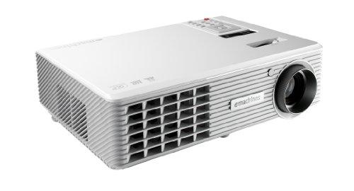eMachines V700 DLP-Projektor (Kontrast 3200:1, 2500 ANSI Lumen, WXGA 1280 x 720 Pixel) weiß