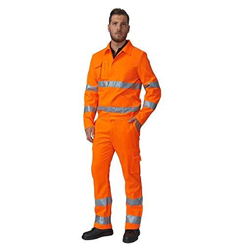 Pantalone da Lavoro Estivo SIGGI 69SE0334 Alta VISIBITA Arancio DPI Classe 2 (XXXL)