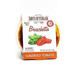 ORTI D'ITALIA Sundried Tomato Bruschetta, 5.3 oz