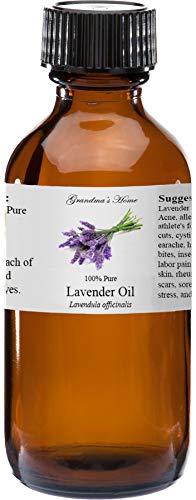 Lavender Essential Oil 100% Pure Therapeutic Grade Essential Oil - 2 fl oz - Grandmas Home