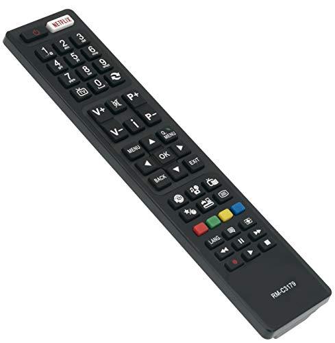 Vinabty RM-C3179 - Telecomando sostitutivo per TV LCD JVC LT-50C750 LT-40C755 LT-40C750