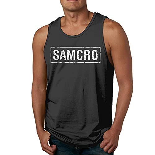 Sons of Anarchy Samcro Mens 3D Print Tank Tops Workout Tank Tops for Gym/Running/Workout T-Shirts & Hemden(XX-Large)