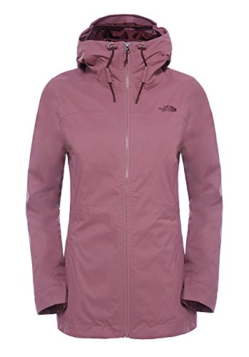 The North Face W Morton Triclimate, Giacca Donna, Rosa (Pink/Renaissance Rose), XS