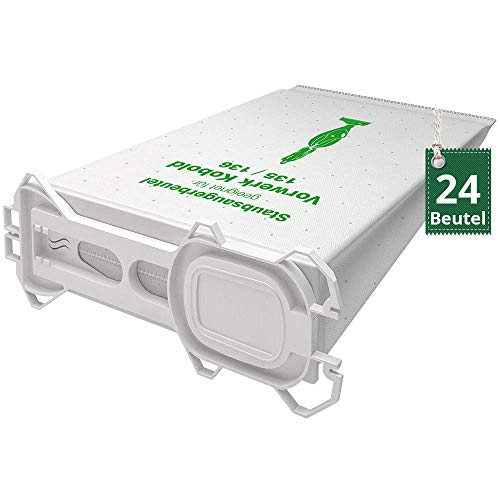 AVR-Handel 24 hochwertige Staubsaugerbeutel Typ VS 135 passend für Vorwerk Kobold 135 und 136