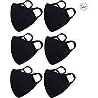 6-Pack Burlway Cotton Reusable Face Masks