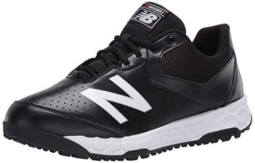New Balance Men's 950 V3 Umpire Baseball Shoe, MLB Black/White, 7.5
