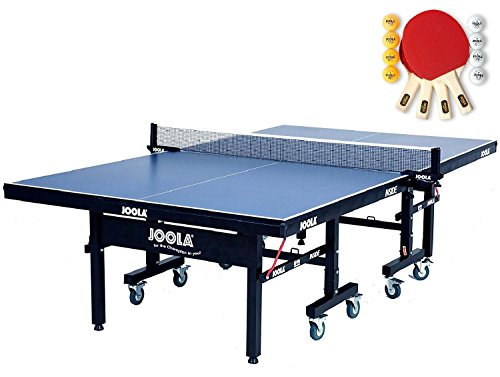 JOOLA Inside Table Tennis Table with Net Set - Features 10-Min Assembly, Playback Mode, Compact Storage