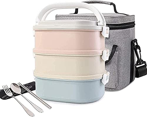Bento Boxes for Kids Lunches Cute Lunch Box Insulated Lunch Bag Box Food Container Storage Boxes with Spoon for Adults Office Camping hellip; lunch boxes