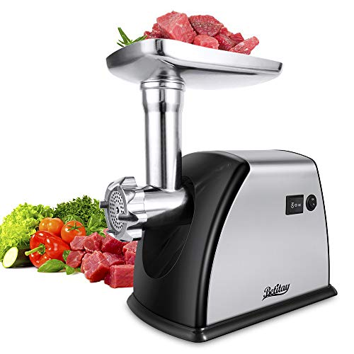 Betitay Electric Meat Grinder Mincer,1800W Max Stainless Steel...
